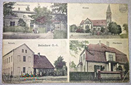 Pocztówka Bojszowy około 1914