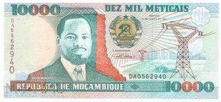 Mozambik - 10 000 meticali (1991)