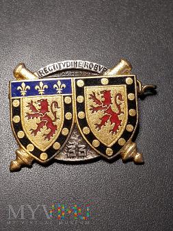 Pamiątkowa odznaka 33 Pułku Artylerii - Francja