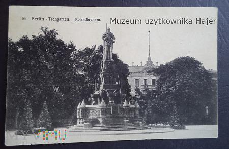 Niemcy - Berlin Tiergarten Rolandbrunnen