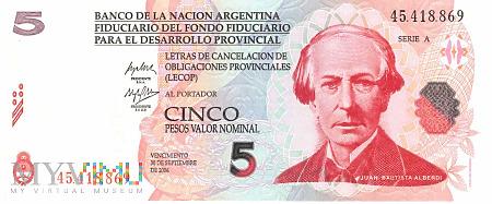 Argentyna - 5 pesos (2006)