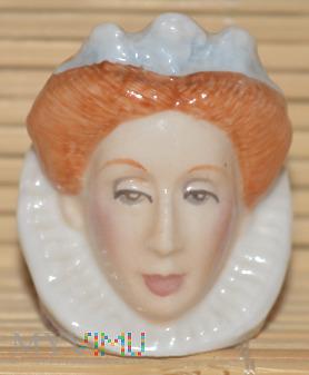 Naparstek -głowa/ Elżbieta I