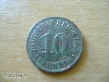 10 pfennigów 1888