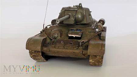 Duże zdjęcie T-34/76 obr.1943 fabr. Nr 112 w Krassnoje Sormowo.