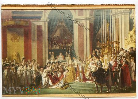 Napoleon I koronujący cesarzową Josephine w 1804 r