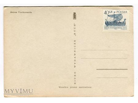 WESOŁYCH ŚWIĄT Bożena Truchanowska pocztówka