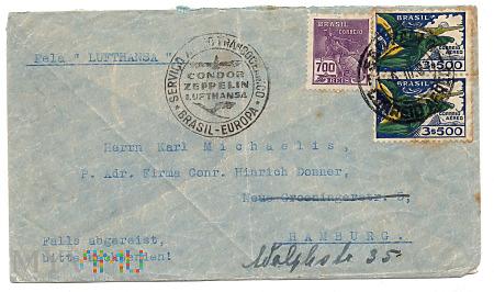 3.2a-BRAZIL CONDOR ZEPPELIN LUFTHANSA.1934