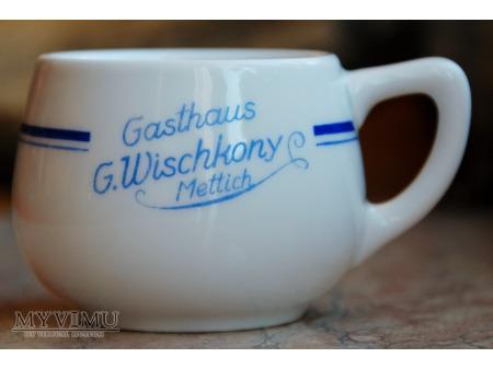 Filiżanka Gasthaus G. Wischkony - Mettich