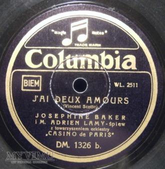 Josephine Baker polska wersja płyty .