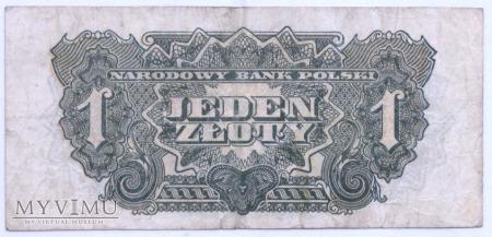"""1 złoty - 1944 (""""obowiązkowym"""")"""