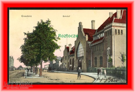 GRUDZIĄDZ Grudziadz Dworzec kolejowy