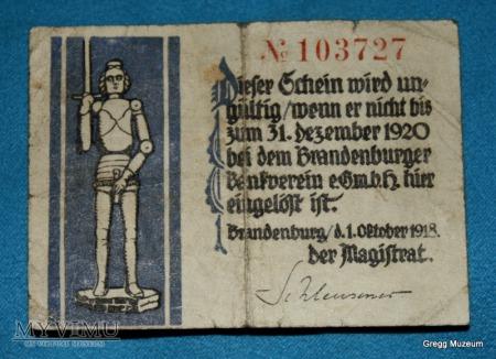 1/2 Mark 1920 (Notgeld)