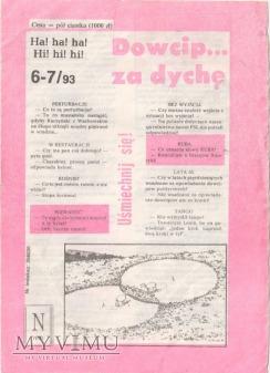 Dowcip...za dychę 6-7/93