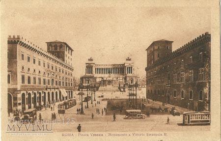 Włochy - Rzym - 1925 r.