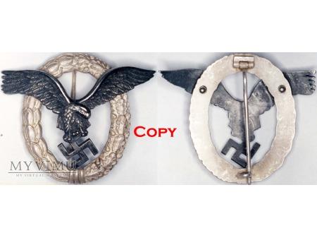 Odznaka Pilota Luftwaffe, Pilot's Badge