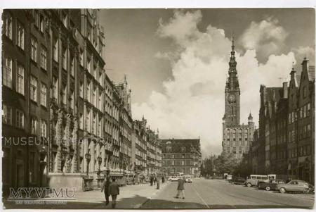 Gdańsk 1969 - Długi Targ, Ratusz
