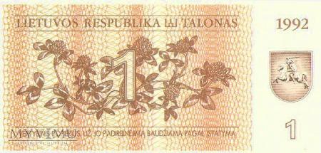 1 Talon, Litwa.