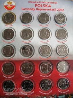 Medale PZPN na MŚ- Korea i Japonia 2002