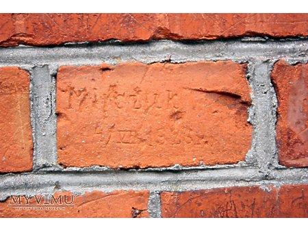 """Duże zdjęcie """"Stara Prochownia"""" - budynek A - inskrypcja #008"""