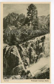 Duże zdjęcie Tatry Wodospad Czarnego Stawu - lata 40/50