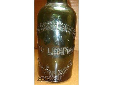 Butelka od piwa-OTTO LEHMANN ,zielona,0,33l.