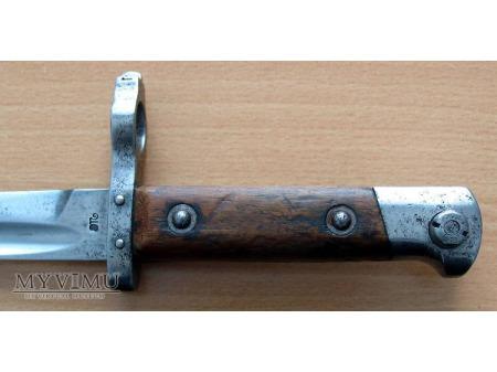 bagnet żołnierski do sztucera (OMC, 1918-20)