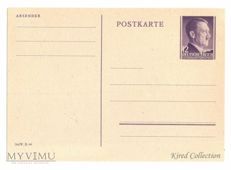 Całostka pocztowa Cp 10