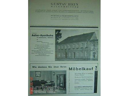 Przewodnik o Trzciance z 1930r.Reklama#6