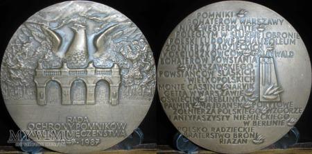 120.40 lat Rady Ochrony Pomników Walk i Męczeństwa