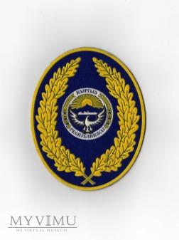 KIRGISTAN - Naszywka Sił Zbrojnych