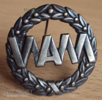 Oznaki szkolne: Wojskowa Akademia Medyczna (WAM)