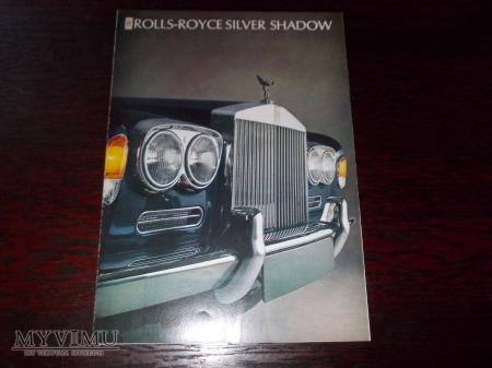 Prospekt ROLLS-ROYCE SILVER SHADOW