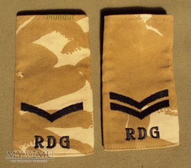 Wieka Brytania-oznaka stopnia: RDG