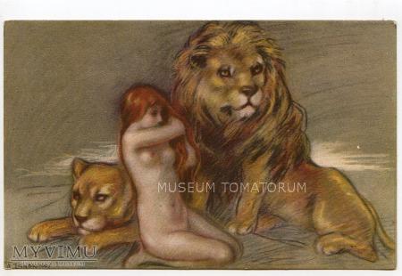 Zandrino - Akt z lwem