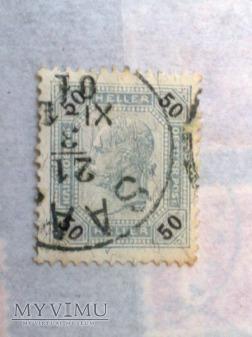 Franz Joseph 1899 50 Halerz austro-węgierski