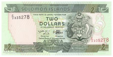 Wyspy Salomona - 2 dolary (1997)