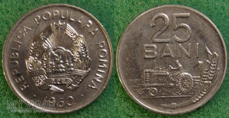 Rumunia, 25 Bani 1960