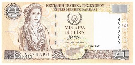 Cypr - 1 funt (1997)