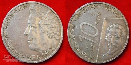 Holandia, 1995, 10 guldenów