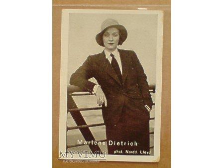 Duże zdjęcie Marlene Dietrich papierosy Macedonia foto