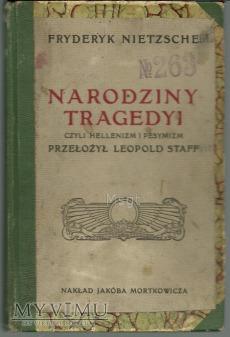 NARODZINY TRAGEDII ALBO GRECY I PESYMIZM