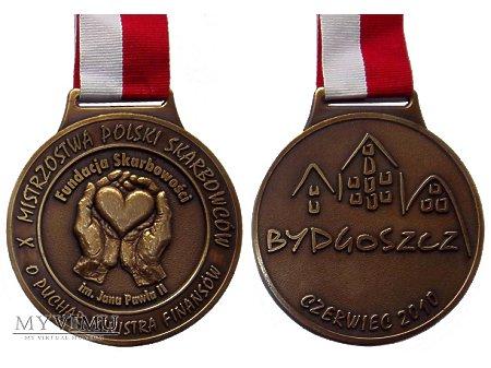 Duże zdjęcie X Mistrzostwa Polski Skarbowców medal 2010