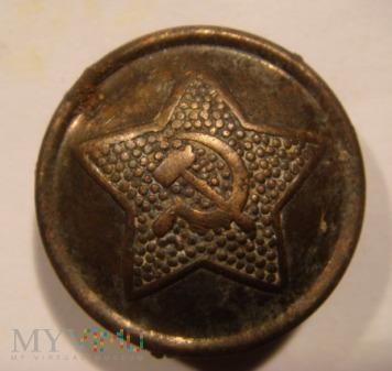 Duże zdjęcie Guzik wojskowy radziecki 22 mm.