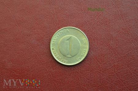 Moneta słoweńska: 1 tolar