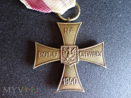 Duże zdjęcie Krzyż Walecznych 1940r. - K9.