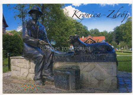 Krynica - Pomnik Nikifora - 2013
