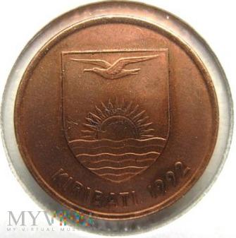 Duże zdjęcie 1 cent 1992 r. Kiribati