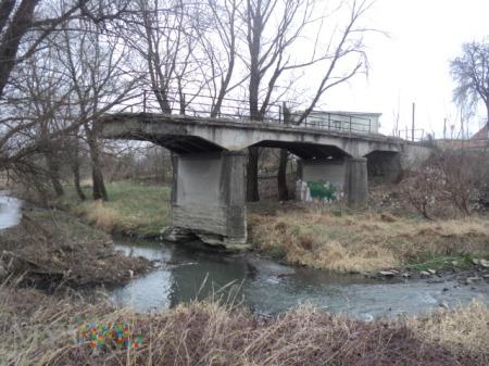 Most przez rzekę Tismenytsia.