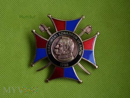 Odznaka szwadronowa Krakowskich ułanów