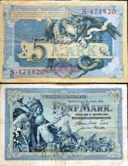 Niemcy, 5 marek 1904